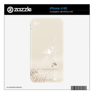 Abstract Illustration 3 Decal For iPhone 4
