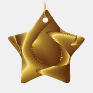 Abstract Illustration Ceramic Ornament