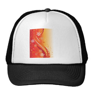 Abstract Illustration Design Mesh Hat