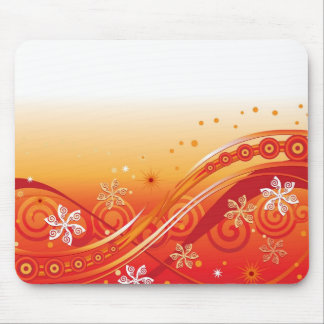 Abstract Illustration Design Mouse Pads