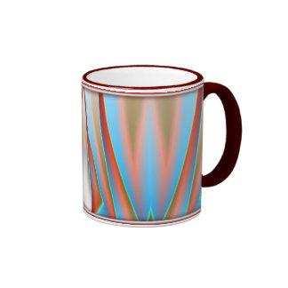 Abstract Illustration Ringer Mug