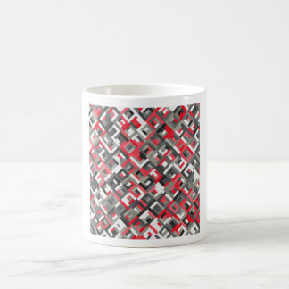 abstract image coffee mug