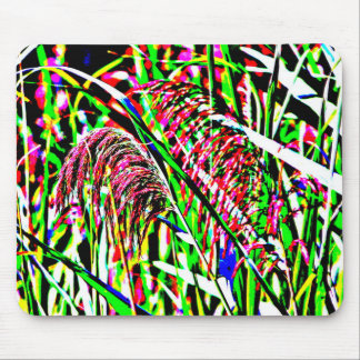 Abstract Image of Grass in a Field Mouse Pad