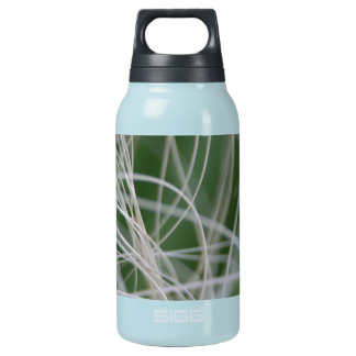 Abstract Image of Tropical Green Palm Leaves Insulated Water Bottle