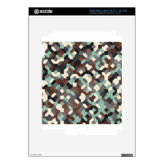 abstract image skin for iPad 3
