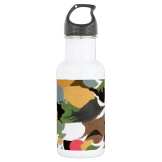 abstract imagenative abstract-art stainless steel water bottle