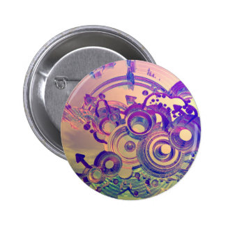 Abstract Impressions Pins