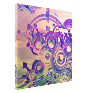 Abstract Impressions Gallery Wrapped Canvas