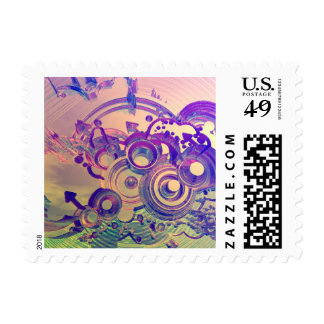 Abstract Impressions Stamp