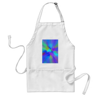 Abstract in Blue Adult Apron