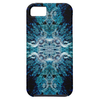 Abstract in Blue and Teal. Some soft edges. iPhone SE/5/5s Case