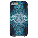 Abstract in Blue and Teal. Some soft edges. iPhone 6 Case