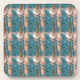 Abstract in Blue Drink Coaster