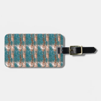 Abstract in Blue Luggage Tag