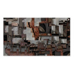 Abstract in Brown and Gray. Pattern. Double-Sided Standard Business Cards (Pack Of 100)