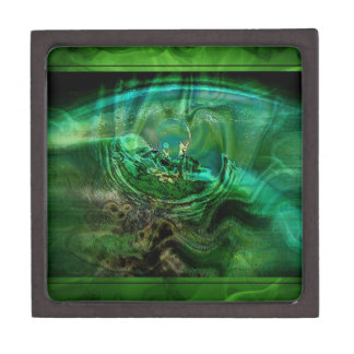 Abstract In Greens Gift Box