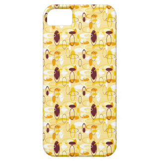 Abstract In Pale Yellow iPhone SE/5/5s Case