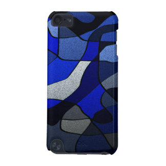 Abstract in Shades of Blue iPod Touch 5G Case
