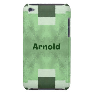 Abstract in Shades of Green Case-Mate iPod Touch Case