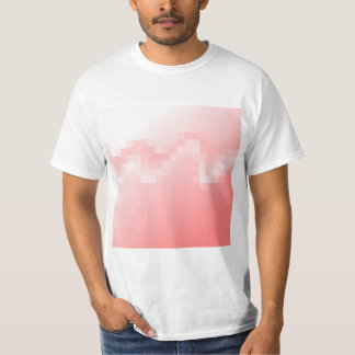 Abstract in Soft Warm Pink Colors. T-Shirt