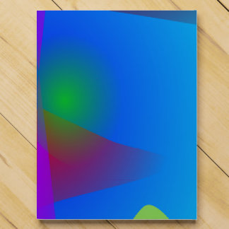 Abstract in the Blue Water Gradation Countdown Calendars