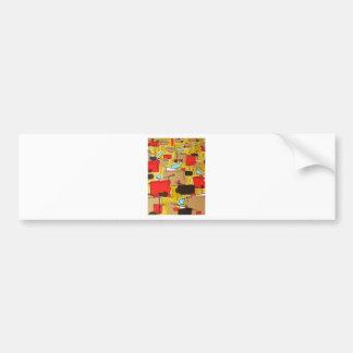 abstract in the eichlerhood by sludge bumper sticker