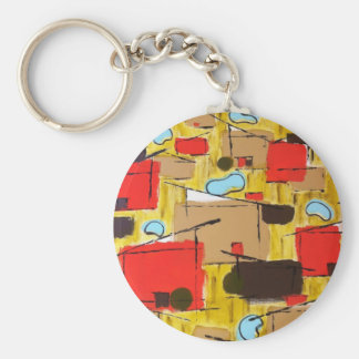 abstract in the eichlerhood by sludge key chain