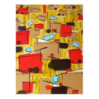 abstract in the eichlerhood by sludge postcard
