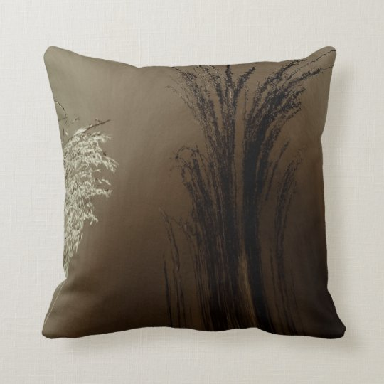 Abstract in Wheat Pillow