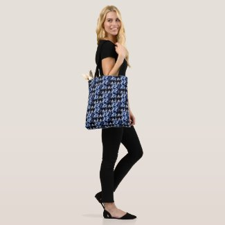 Abstract Indigo Tote bag