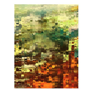 Abstract Industrial by rafi talby Postcard