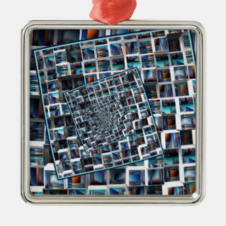 Abstract Infinity Metal Ornament