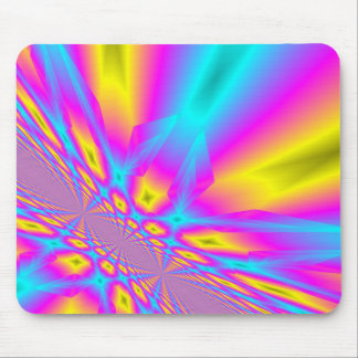 Abstract infinity mouse pad