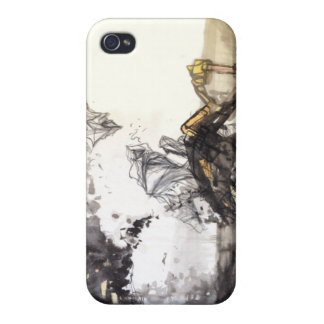 Abstract Ink Landscape iPhone Case iPhone 4/4S Covers