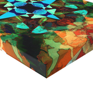 Abstract Inkblot Pattern Canvas Print