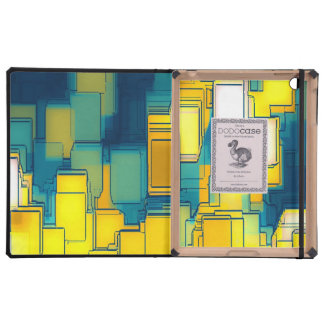 abstract iPad cover