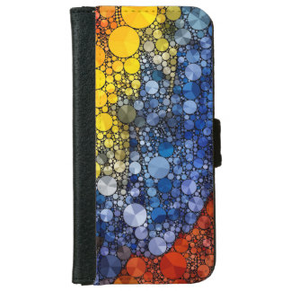 Abstract iPhone6 Wallet Cases iPhone 6 Wallet Case
