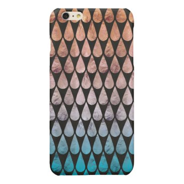 Abstract Glossy iPhone 6 Plus Case