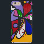 "Abstract iPhone case. Tough iPhone 6 Plus Case<br><div class=""desc"">Original abstract cover design for iPhone. Design is Peter Max inspired and reflects the youth art culture of the 1960&#39;s.</div>"