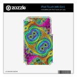 Abstract iPod Touch 4G Decals