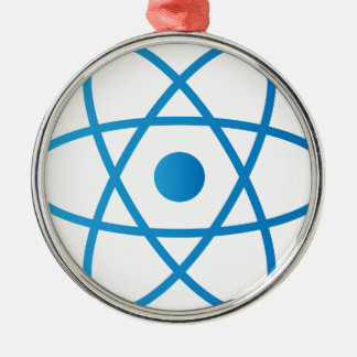 Abstract Isolated Atom Metal Ornament