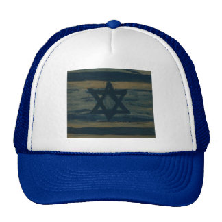 abstract israel hat