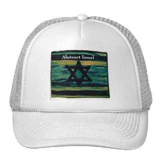 ABSTRACT ISRAEL HATS