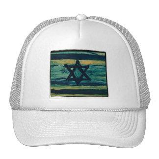ABSTRACT ISRAEL ORIGINAL TRUCKER HAT