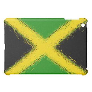 Abstract Jamaica Flag  Case For The iPad Mini