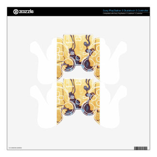 Abstract Japanese Bonsai (Japonism painting) Skins For PS3 Controllers