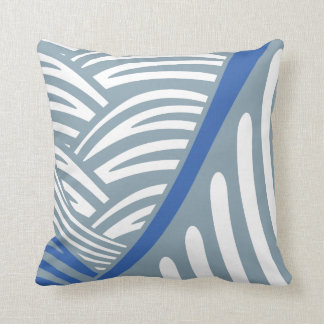 Abstract Japanese Waves Pillow