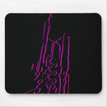 Abstract Jazz Trumpet Mousepad