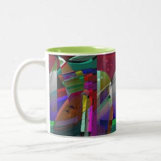 Abstract JAZZY Mug