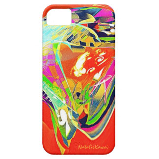 Abstract Jelly Fish iPhone 5 Covers